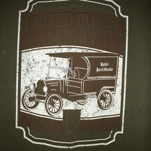 UPS, United Parcel Service Graphic Tee Shirt